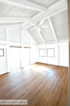 Here are the White Wood Beams Ceiling Ideas For Cottage. This post about White Wood Beams Ceiling Ideas For Cottage was posted under the category by our team at June 2019 at am. Hope you enjoy it and . Painted Wood Ceiling, Painted Beams, Wooden Ceilings, Wood Beams, Paint Ceiling, Wood On Ceiling Ideas, Wood Ceiling Beams, Plywood Ceiling, Raked Ceiling