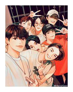 Nct Dream Renjun, Character Art, Character Design, Nct Dream Jaemin, Jisung Nct, Kpop Drawings, Kpop Fanart, Winwin, Taeyong