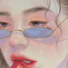 Kunst Inspo, Art Inspo, Art Anime, Anime Art Girl, Manga Girl, Anime Girls, Art And Illustration, Illustrations, Pretty Art