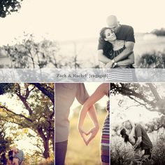 outdoor engagement session photography