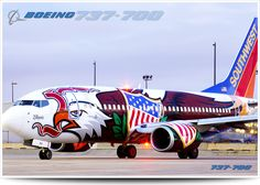 737-700, Southwest Airlines, USA Illinois One