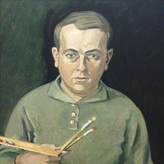 Wolfgang Mattheuer zelfportret