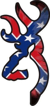Rebel Flag Browning Symbol-Would Make a nice tatoo