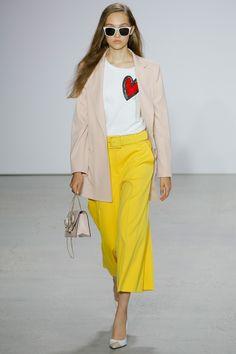 Oscar de la Renta Spring 2018 Ready-to-Wear  Fashion Show - Michelle Gutknecht