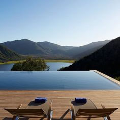 #WeekendVibes from Harper-recommended Viña Vik in San Vicente de Tagua Tagua, #Chile. Our favorite things about this property are the museum-quality contemporary art at every turn, the sensational views and the accommodating staff. @vikretreats   : copyright Viña Vik