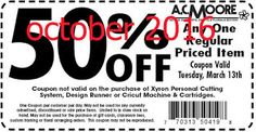 AC Moore Coupons Ends of Coupon Promo Codes MAY 2020 ! We and share create and more. Different Coupon types and it's use. Dollar General Couponing, Coupons For Boyfriend, Ac Moore, Coupon Stockpile, Free Printable Coupons, Love Coupons, Grocery Coupons, Extreme Couponing, Coupon Organization