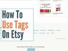 How To Use Tags On Etsy To Help You Get Found In Search