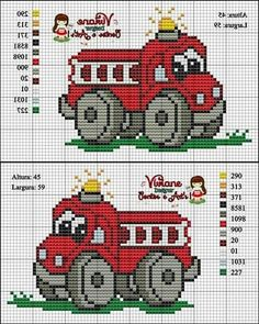 #pontoxPontox Cross Stitch For Kids, Cross Stitch Baby, Cross Stitch Charts, Cross Stitch Designs, Cross Stitch Patterns, Cross Stitching, Cross Stitch Embroidery, Hand Embroidery, Baby Motiv