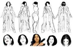 Irroli model sheet 1 by Krillin