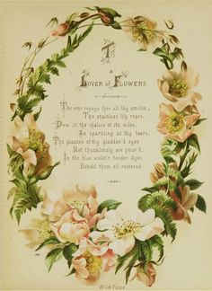 Flowers were Ophelia's way of coping. Flowers were a way for her to express her discontent, and a way for her to feel whole. This poem talking about the magic of flowers reminds me greatly of the scene when Ophelia delivers flowers to everyone; she is sad, yet somewhat happy, staring at her flowers.