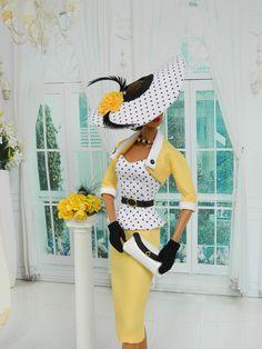 *DYNASTY* ~OOAK Fashion for Fashion Royalty/Silkstone Barbie by Joby Originals