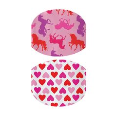 UNICORN DREAM & HEARTS - So cute for lil girls fingers and toes - http://nomorepaint.jamberrynails.net/home/ProductDetail.aspx?id=1594#.UbyHnnBYky4