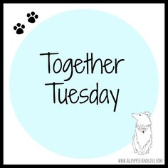 Another Together Tuesday up on the blog! Supporting our fellow Etsy sellers.  www.allpuppiesandlove.com