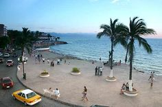An evening stroll on the Malecon in Puerto Vallarta is the BEST!