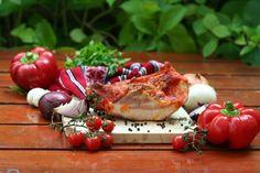 Abált tokaszalonna Hungarian Cuisine, Camembert Cheese, Sausage, The Cure, Bacon, Keto, Homemade, Vegetables, Food