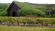 Stöng - Ruins of a Real Viking Settlement Manor and the Reconstructed Saga-Age Farm in Iceland