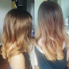 Ombre on Hannah, first time color guest!