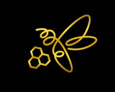 BEE~Golden bee brand line Logo design - Golden bee brand line is a big winner contest project for Fine Food Land Ltd which includes 10 variations bee designs for 10 different flavors honey products. Price $0.00