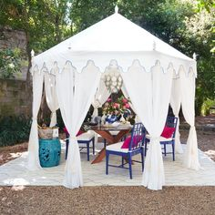 Indonesian Summer: Farmhouse Tent