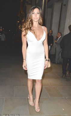 Not shy! Pascal Craymer once again showed plenty of skin when she hit the My Hero film premiere at the Raindance Film Festival in London's Piccadilly on Thursday night