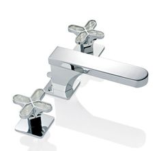 Olivia Double Handle Horizontal Spray Bidet Faucet with