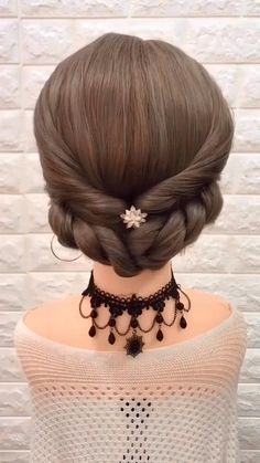 Short Hair Styles Easy, Wedding Hairstyles For Long Hair, Hairstyles For School, Medium Hair Styles, Girl Hairstyles, Hairstyles Videos, Easy Updos Medium Hair, Homecoming Hairstyles, Latest Hairstyles