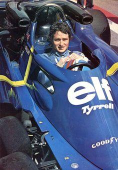 Patrick Depailler (Tyrrell P 34-2/1) sport-auto juin 1976.