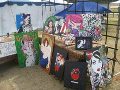 My art booth 2010