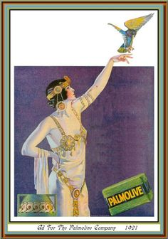 ART Deco playing cards ~ Three of Hearts Coles Phillips? Vintage Advertising Posters, Old Advertisements, Vintage Ads, Vintage Posters, Print Advertising, Vintage Artwork, Harlem Renaissance, Life Magazine, Egypt