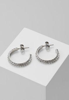4139d58cecfa Dyrberg Kern HOSTA HOOP EARRING - Boucles d oreilles - silver-coloured -