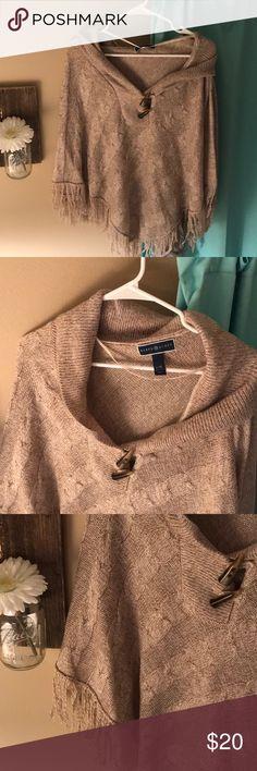 I just added this listing on Poshmark: Poncho. #shopmycloset #poshmark #fashion #shopping #style #forsale #Karen Scott #Sweaters