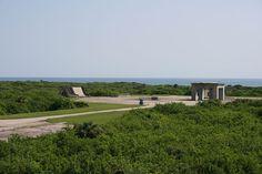 Abandoned NASA launch site