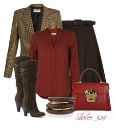 """""""Untitled #1375"""" by sheree-314 on Polyvore featuring Gucci, Yves Saint Laurent, ONLY, Dolce&Gabbana and NEST Jewelry"""