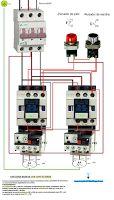 Esquemas eléctricos: Circuitos básicos con contactores
