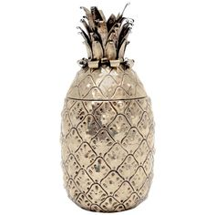 Pineapple Shaker by Mauro Manetti, Italy, 1950s | From a unique collection of antique and modern barware at http://www.1stdibs.com/furniture/dining-entertaining/barware/