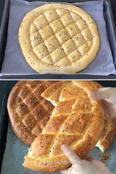 Bread Recipes, Snack Recipes, Snacks, Turkish Kitchen, Food Garnishes, Food Places, Iftar, Waffles, Food And Drink