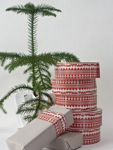 Patterned tape 'Rosengång' - Christmas edition!