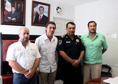 Como parte del fortalecimiento de su agenda legislativa, el Diputado Federal electo, Remberto Estrada Barba, se reunió con el Secretario de Seguridad Pública y Tránsito del municipio de Benito Juárez