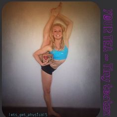 lets_gets_physical5 being super flexible and creative with her ...