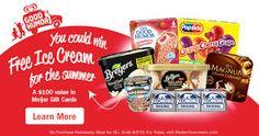 Win FREE Ice Cream for the Summer from Meijer! #MeijerIceCreamSummer