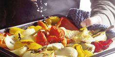 Boodschappen - In de oven geroosterde groenten