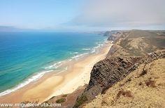 Cordoama y Castelejo: Dos playas salvajes e infinitas del Algarve #portugal #vacaciones #turismo #viajar