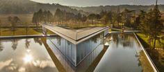 ArtS Centre, design: Tadao Ando @ Château la Coste - Le Puy Sainte Réparade - Provence (FR) | #wine #art #cellar #architecture #vino #arte #cantina #architettura
