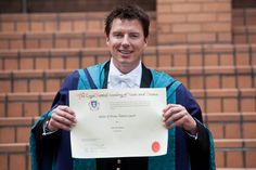 John Barrowman Photos - Torchwood star, John Barrowman, is awarded a Doctor of Drama from the Royal Scottish Academy of Music and Drama in Glasgow. Barrowman was honored along side Moira Anderson. ..UK PAPERS OUT Photograph: © Wattie Cheung. - John Barrowman at the Royal Scottish Academy of Music and Drama