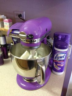 Love my Purple KitchenAid mixer and Purple Keurig and all my Purple appliances!!!