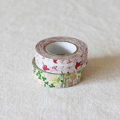 点と線模様制作所 マスキングテープ2種セットA(メッセージバード+リトルガーデン) - 鳥モチーフ雑貨・鳥グッズのセレクトショップ:鳥水木 #bird #garden #MaskingTape #stationery #torimizuki Silver Rings, Jewelry, Jewlery, Jewerly, Schmuck, Jewels, Jewelery, Fine Jewelry, Jewel
