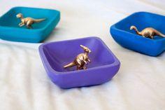 Dinosaur Ring Dish kids' bedroom decor  by WatermallinandCo