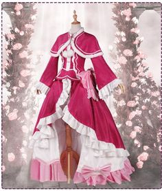 Re ZERO Starting Life in Another World Beatrice Pink Lolita Cosplay Costume <3 http://www.trustedeal.com/Re-ZERO-Starting-Life-in-Another-World-Beatrice-Pink-Cosplay-Costume.html #halloweencosplay