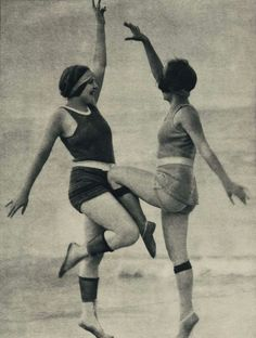 During the early 1920s, some women began rolling down their thigh high stockings - sometimes to mid-thigh height, and sometimes lower - to j...