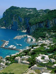 Isola di Capri   #TuscanyAgriturismoGiratola
